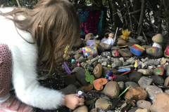 Lila-made-her-rainbow-message-on-a-stone